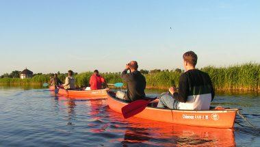 experiencewaterland canoe