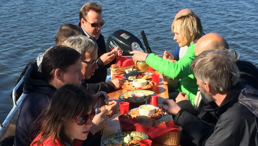Culinaire speurtocht per boot