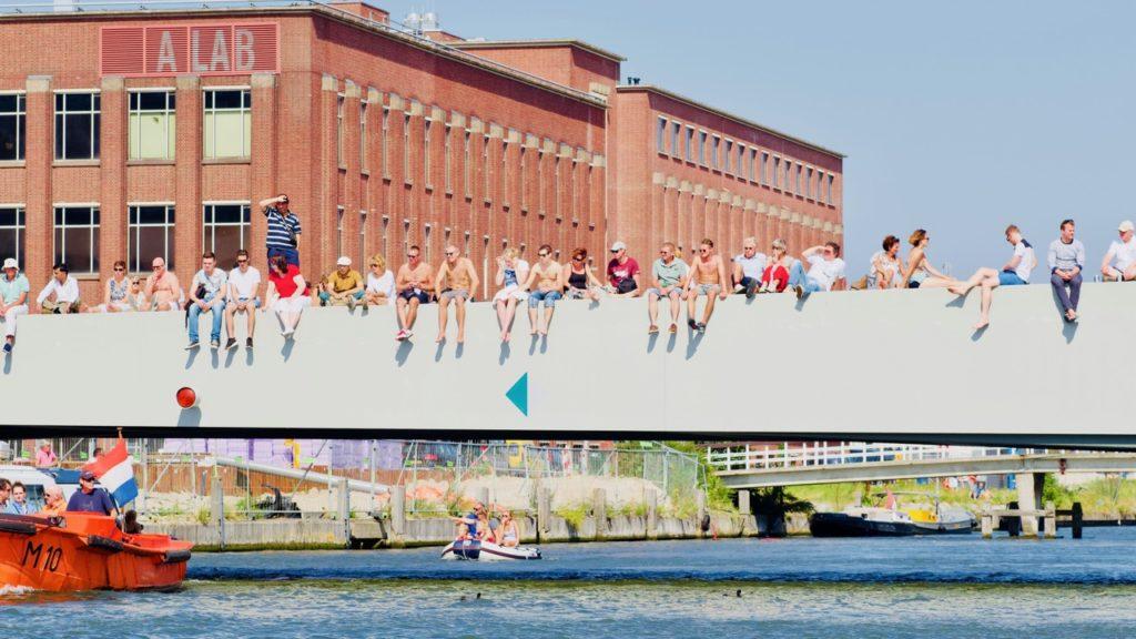 NDSM-werf 'Hipste wijk ter wereld'