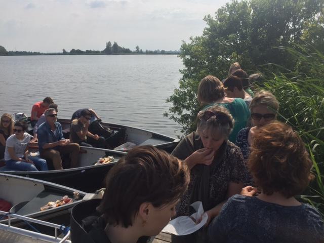 Bedrijfsuitje Culinaire speurtocht per boot